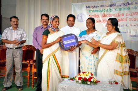 Mrs. Sheela receives a subsidy to buy a taxi